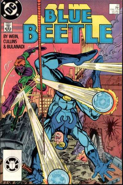 Blue Beetle #17 comic books for sale