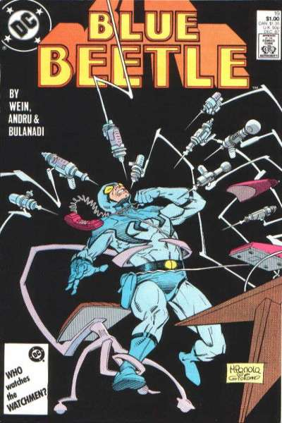 Blue Beetle #19 Comic Books - Covers, Scans, Photos  in Blue Beetle Comic Books - Covers, Scans, Gallery