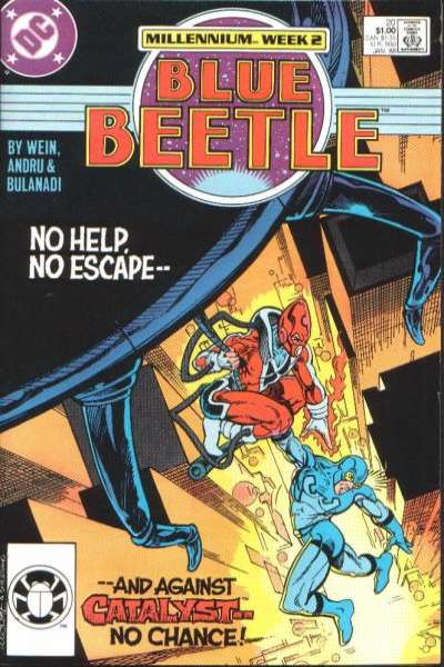Blue Beetle #20 Comic Books - Covers, Scans, Photos  in Blue Beetle Comic Books - Covers, Scans, Gallery