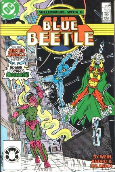 Blue Beetle #21 comic books for sale