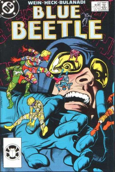 Blue Beetle #23 Comic Books - Covers, Scans, Photos  in Blue Beetle Comic Books - Covers, Scans, Gallery