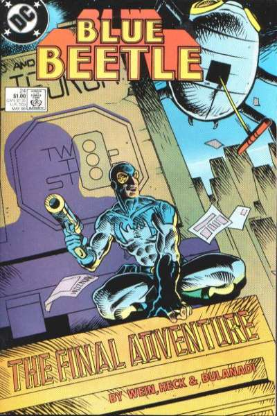 Blue Beetle #24 Comic Books - Covers, Scans, Photos  in Blue Beetle Comic Books - Covers, Scans, Gallery