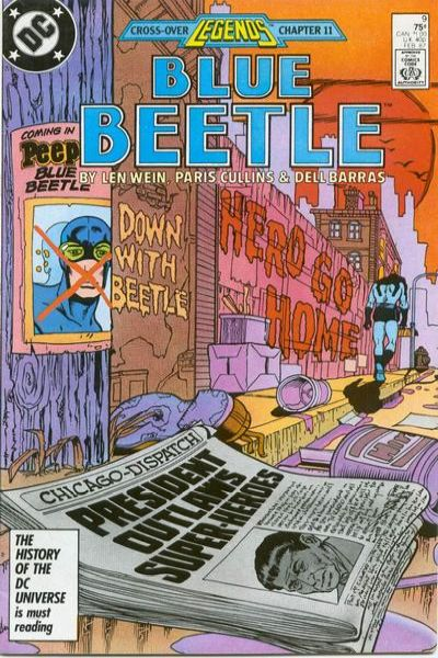 Blue Beetle #9 Comic Books - Covers, Scans, Photos  in Blue Beetle Comic Books - Covers, Scans, Gallery