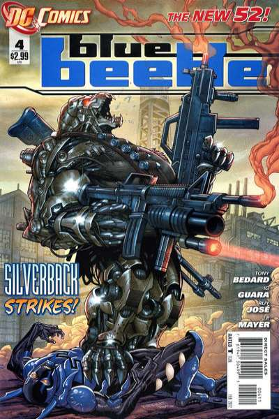 Blue Beetle #4 Comic Books - Covers, Scans, Photos  in Blue Beetle Comic Books - Covers, Scans, Gallery