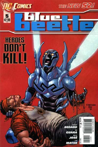 Blue Beetle #5 comic books - cover scans photos Blue Beetle #5 comic books - covers, picture gallery