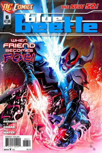 Blue Beetle #6 comic books - cover scans photos Blue Beetle #6 comic books - covers, picture gallery