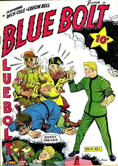 Blue Bolt: Volume 4 comic books