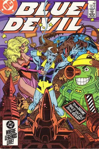Blue Devil #11 Comic Books - Covers, Scans, Photos  in Blue Devil Comic Books - Covers, Scans, Gallery