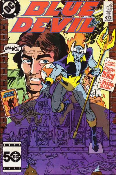 Blue Devil #12 Comic Books - Covers, Scans, Photos  in Blue Devil Comic Books - Covers, Scans, Gallery