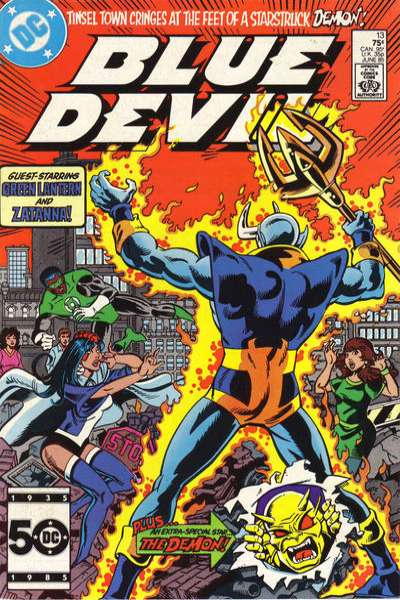 Blue Devil #13 Comic Books - Covers, Scans, Photos  in Blue Devil Comic Books - Covers, Scans, Gallery