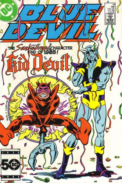 Blue Devil #14 Comic Books - Covers, Scans, Photos  in Blue Devil Comic Books - Covers, Scans, Gallery
