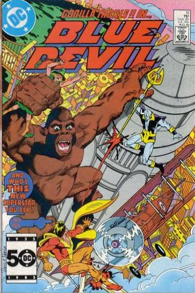 Blue Devil #15 Comic Books - Covers, Scans, Photos  in Blue Devil Comic Books - Covers, Scans, Gallery