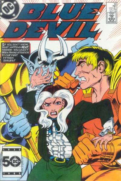 Blue Devil #16 Comic Books - Covers, Scans, Photos  in Blue Devil Comic Books - Covers, Scans, Gallery