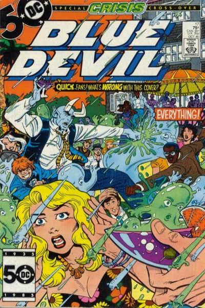 Blue Devil #17 Comic Books - Covers, Scans, Photos  in Blue Devil Comic Books - Covers, Scans, Gallery