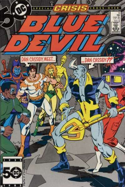 Blue Devil #18 Comic Books - Covers, Scans, Photos  in Blue Devil Comic Books - Covers, Scans, Gallery