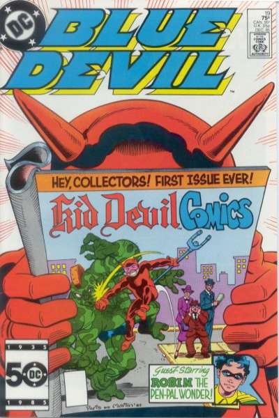 Blue Devil #19 Comic Books - Covers, Scans, Photos  in Blue Devil Comic Books - Covers, Scans, Gallery