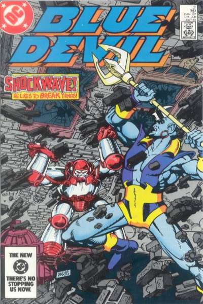 Blue Devil #2 comic books for sale
