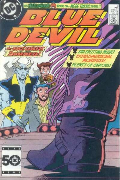 Blue Devil #20 Comic Books - Covers, Scans, Photos  in Blue Devil Comic Books - Covers, Scans, Gallery