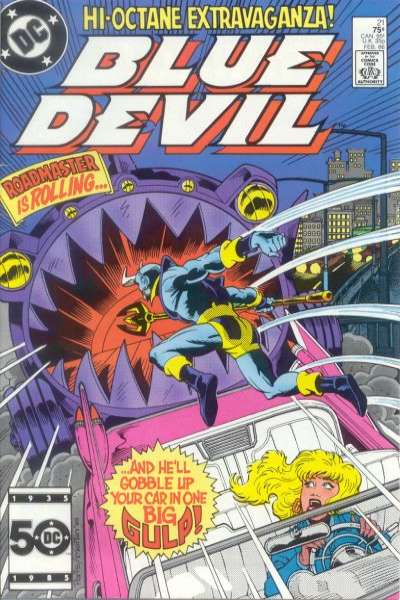Blue Devil #21 Comic Books - Covers, Scans, Photos  in Blue Devil Comic Books - Covers, Scans, Gallery