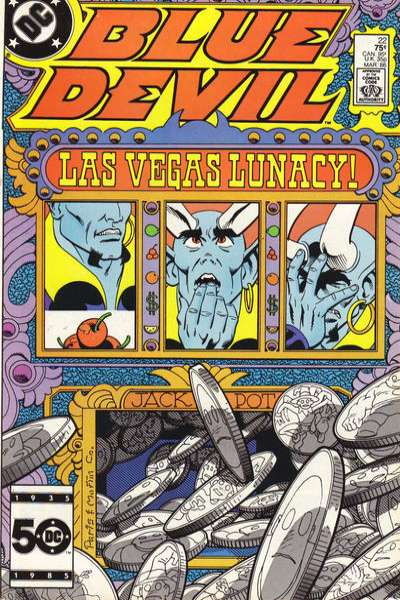 Blue Devil #22 Comic Books - Covers, Scans, Photos  in Blue Devil Comic Books - Covers, Scans, Gallery