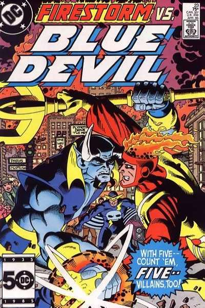Blue Devil #23 Comic Books - Covers, Scans, Photos  in Blue Devil Comic Books - Covers, Scans, Gallery