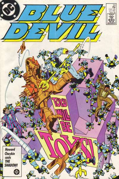 Blue Devil #24 Comic Books - Covers, Scans, Photos  in Blue Devil Comic Books - Covers, Scans, Gallery