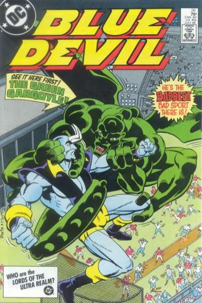 Blue Devil #26 Comic Books - Covers, Scans, Photos  in Blue Devil Comic Books - Covers, Scans, Gallery