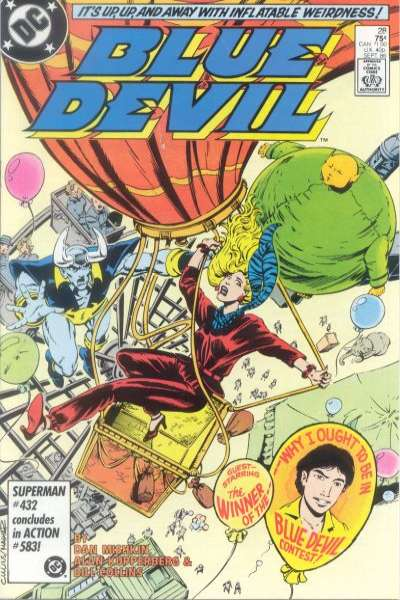 Blue Devil #28 Comic Books - Covers, Scans, Photos  in Blue Devil Comic Books - Covers, Scans, Gallery