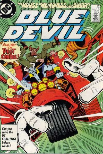 Blue Devil #29 Comic Books - Covers, Scans, Photos  in Blue Devil Comic Books - Covers, Scans, Gallery