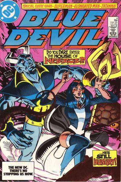 Blue Devil #4 comic books for sale