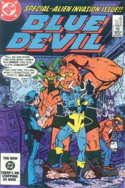Blue Devil #6 comic books for sale