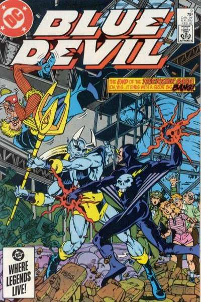 Blue Devil #9 comic books for sale