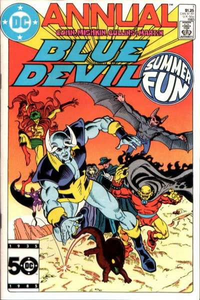 Blue Devil #1 comic books for sale
