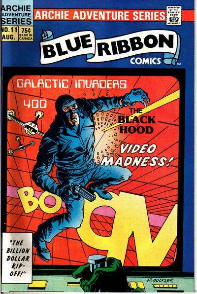 Blue Ribbon Comics #11 Comic Books - Covers, Scans, Photos  in Blue Ribbon Comics Comic Books - Covers, Scans, Gallery