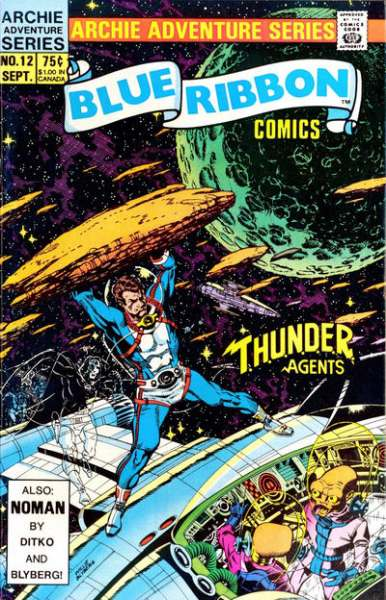 Blue Ribbon Comics #12 Comic Books - Covers, Scans, Photos  in Blue Ribbon Comics Comic Books - Covers, Scans, Gallery