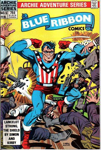 Blue Ribbon Comics #5 Comic Books - Covers, Scans, Photos  in Blue Ribbon Comics Comic Books - Covers, Scans, Gallery