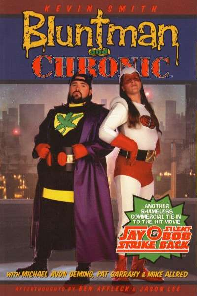 Bluntman and Chronic Comic Books. Bluntman and Chronic Comics.