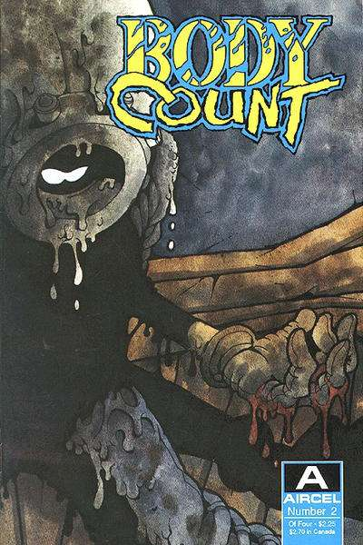 Body Count #2 Comic Books - Covers, Scans, Photos  in Body Count Comic Books - Covers, Scans, Gallery