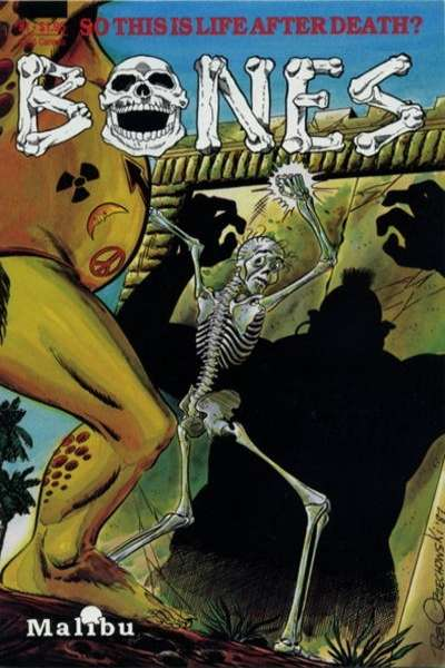 Bones comic books