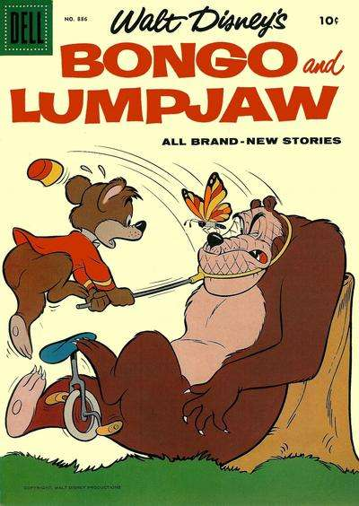Bongo & Lumpjaw #2 comic books - cover scans photos Bongo & Lumpjaw #2 comic books - covers, picture gallery