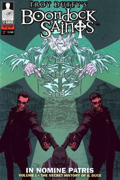 Boondock Saints: In Nomine Patris #2 comic books - cover scans photos Boondock Saints: In Nomine Patris #2 comic books - covers, picture gallery