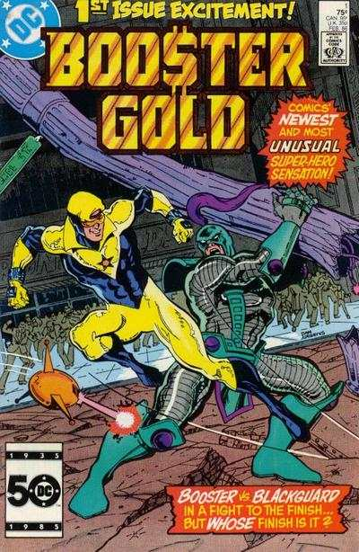 Booster Gold #1 Comic Books - Covers, Scans, Photos  in Booster Gold Comic Books - Covers, Scans, Gallery