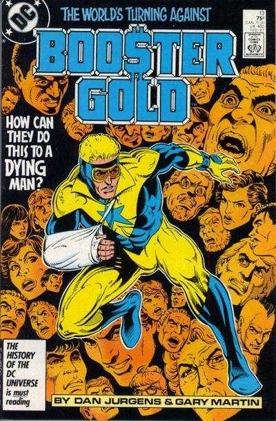 Booster Gold #13 comic books - cover scans photos Booster Gold #13 comic books - covers, picture gallery