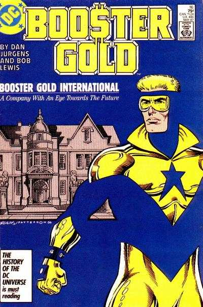 Booster Gold #16 comic books - cover scans photos Booster Gold #16 comic books - covers, picture gallery