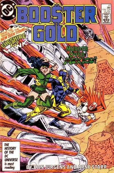 Booster Gold #17 comic books - cover scans photos Booster Gold #17 comic books - covers, picture gallery