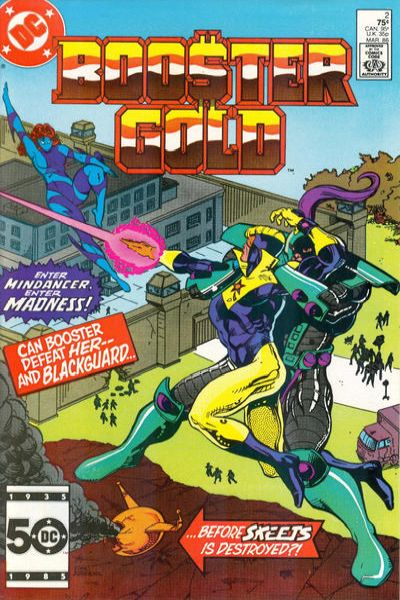 Booster Gold #2 comic books - cover scans photos Booster Gold #2 comic books - covers, picture gallery