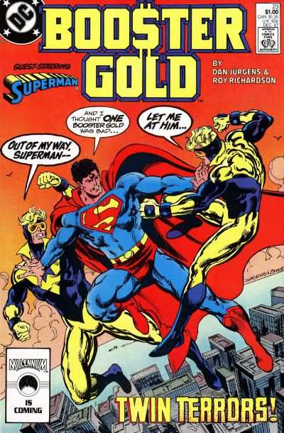 Booster Gold #23 comic books - cover scans photos Booster Gold #23 comic books - covers, picture gallery