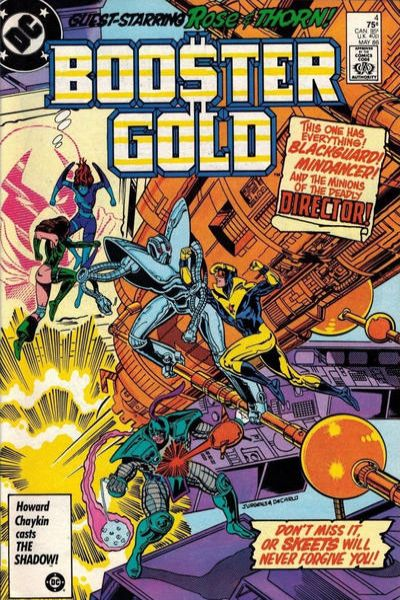 Booster Gold #4 comic books - cover scans photos Booster Gold #4 comic books - covers, picture gallery