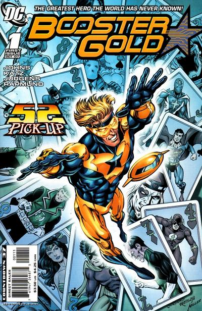 Booster Gold Comic Books. Booster Gold Comics.