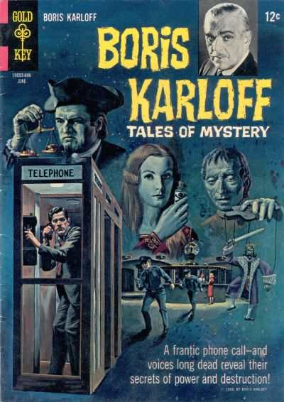 Boris Karloff Tales of Mystery #14 comic books - cover scans photos Boris Karloff Tales of Mystery #14 comic books - covers, picture gallery